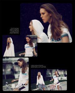 (The Feeling of Summer) Josefien Rodermans & Aurelia Gliwska by Mark Hunter & Kimberly Gordon for Wildfox summer 2015 (66)