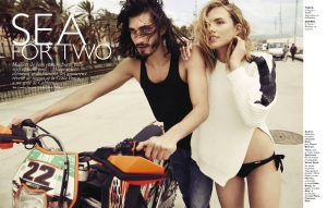 Tosca Dekker And Andres Risso By Marc Philbert For Grazia France 14th June 2013 (1)